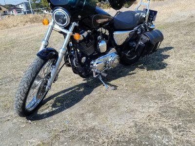 自分好みのバイク。