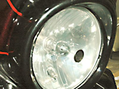 ヘッドライトトリムリング取り付け(Touringモデル)