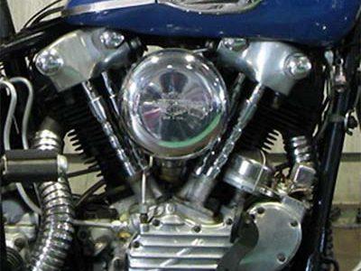 ハーレーの旧車エンジン