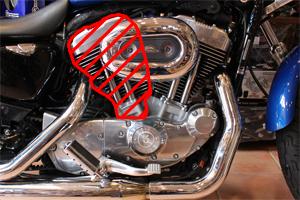 ハーレーエンジンOHVエンジン イメージ
