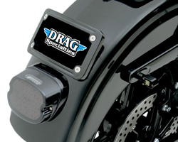 Drag Specialties Low-Profile LEDテールライト レッド イメージ